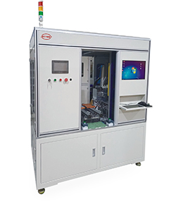 Semi-automatic coil PCB assembly machine